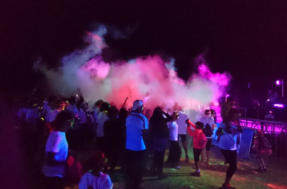 Holi Run Party la Garde